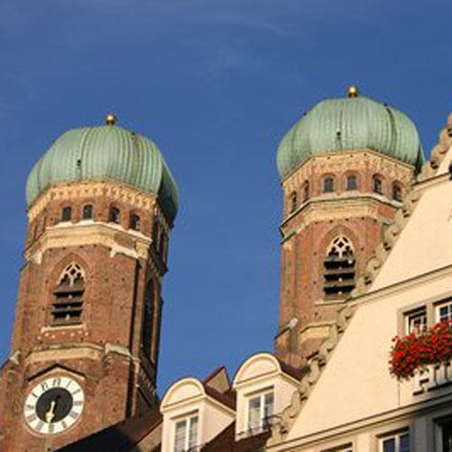 Stadtführung München Frauenkirche Zwiebeltürme